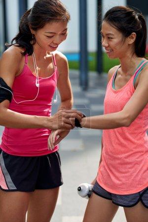 fitness wearable technology friends