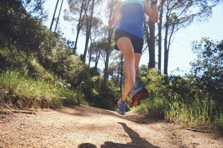 runner exercising for marathon