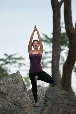healthy yoga fitness woman