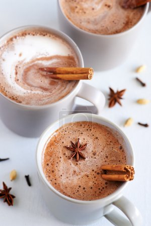 Spiced chai latte