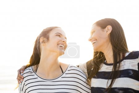 Photo for A portrait of best friends laughing - Royalty Free Image