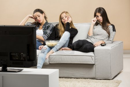 Girls Watching sad movies
