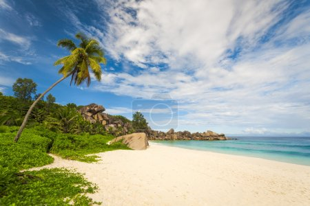 Grand Anze beach in La Digue Island