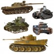 Collection of World War 2 tank...