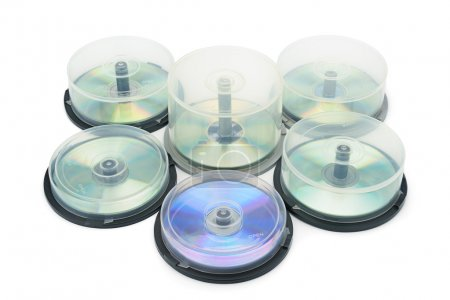 Boxes with DVD disc