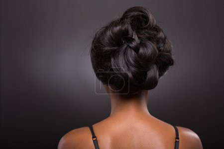 African female stylish hairstyle