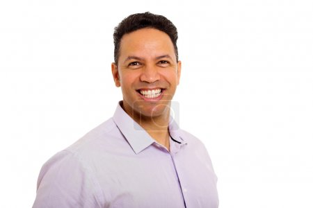 Photo for Close up portrait of happy middle aged man - Royalty Free Image
