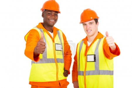 engineers giving thumbs up