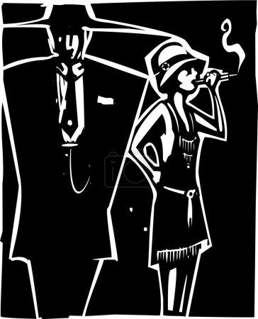Mafia Boss and Moll