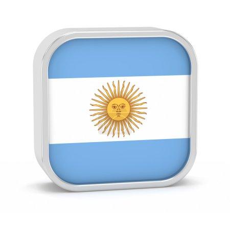 Argentina flag sign.