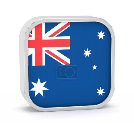 Australia flag sign.