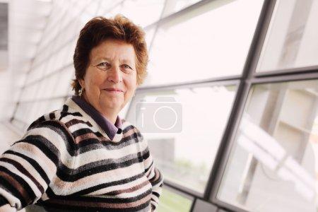 beautiful 70 years old woman