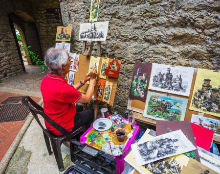 Artist in   San Marino