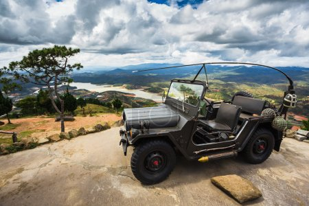 View of Jeep on the