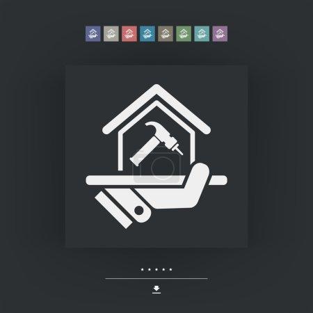Home repair icon
