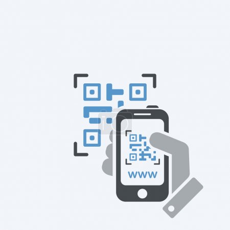 Photographing QR code