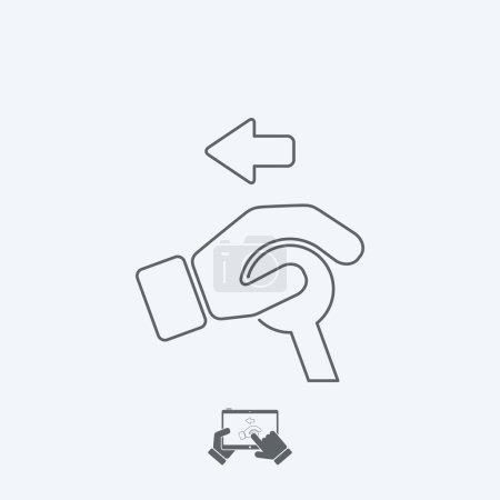 Control handle icon