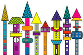 Doodle houses