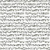 Ancient cuneiform assyrian or sumerian inscripton background