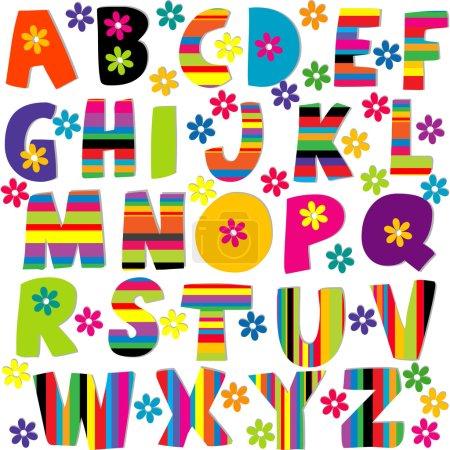 Happy alphabet set