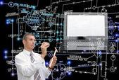 E-připojení strojírenské technologie. Pracovní inženýr