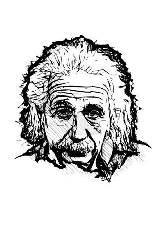 Альберт Эйнштейн иллюстрация
