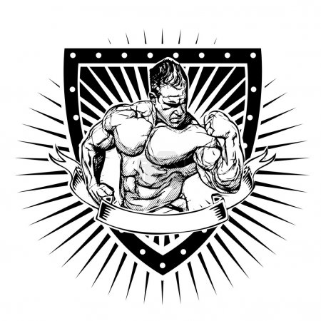 bodybuilding shield