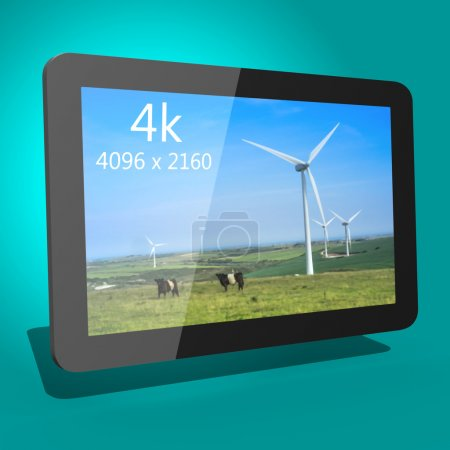 Tablet device 3d