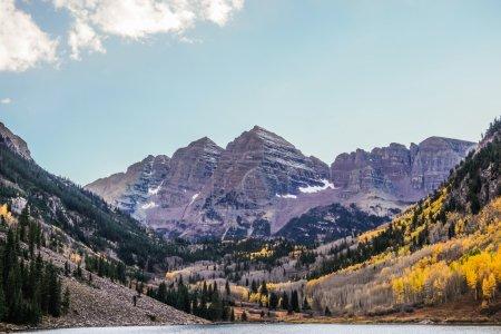 Maroon Bells , Aspen Colorado