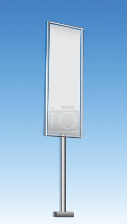 Street Vertical Advertisement Banners
