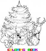 Santa Claus and the animals
