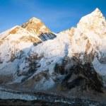 Постер, плакат: Evening panoramic view of Mount Everest
