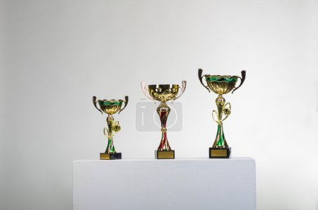 Golden cups of the winner