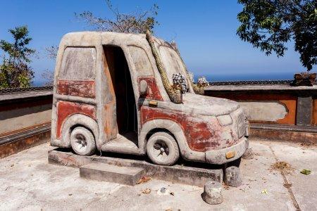 Famous Hindu Car Temple Nusa