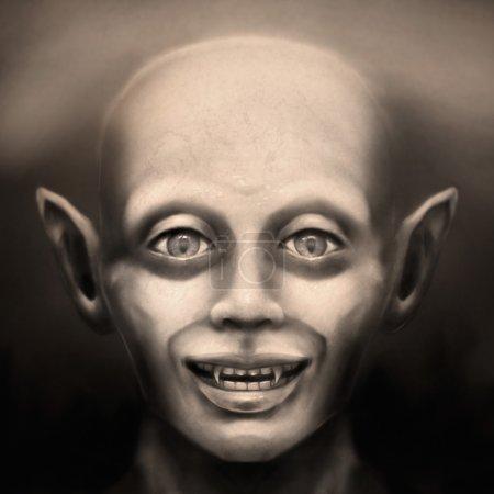 Vintage vampire face