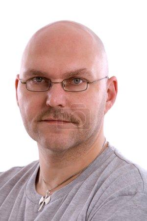 Adult balding man