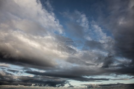 Dramatic Sky - Background of storm clouds