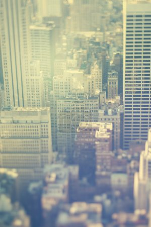 New York city, Manhattan, office buildings