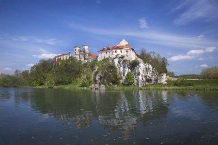 Ancient polish castle view
