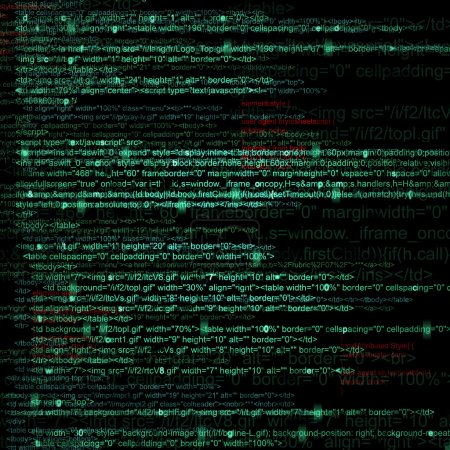Web Computer Code Abstract Background