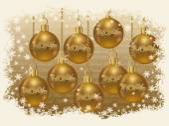 Christmas sale golden card vector illustration