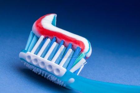 Toothpaste toothpaste closeup
