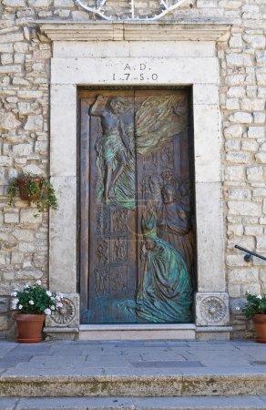Mother Church of Pietragalla. Basilicata. Italy.