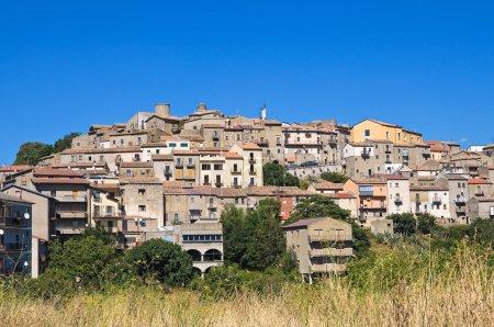 Panoramic view of Pietragalla. Basilicata. Italy.