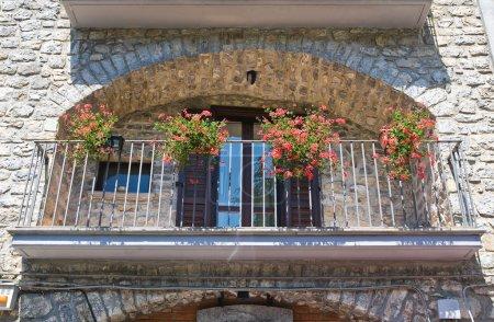 Historical palace. Viggianello. Basilicata. Italy.