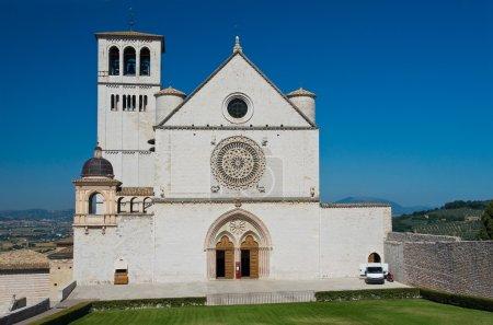 Basilica Church of St. Francesco d'Assisi. Umbria. Italy.