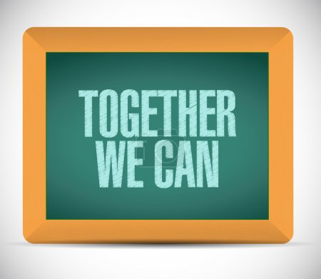 together we can message problem