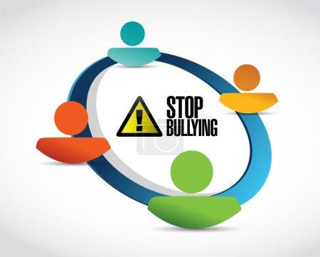 concept de connexion gens Bully zone franche