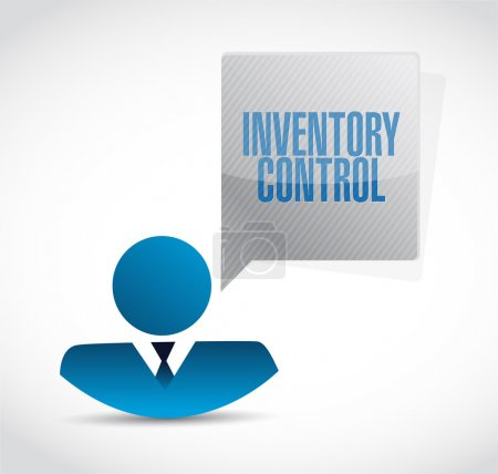 inventory control icon avatar sign concept