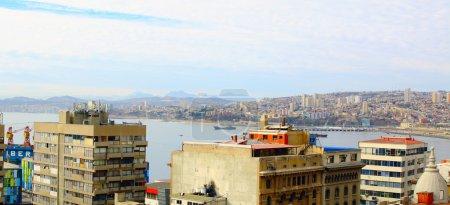 Panorama of Valparaiso - Chile, Latin America